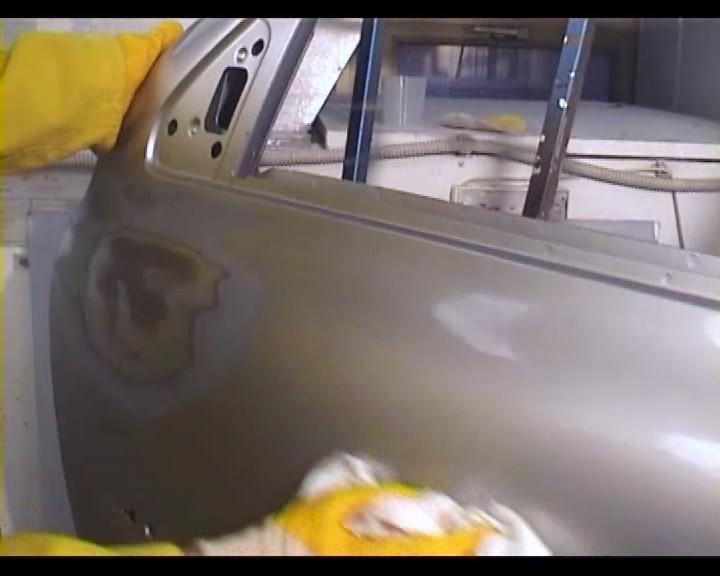Покраска авто металликом своими руками в гараже 78